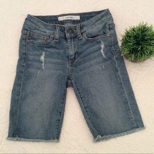 Joes Girls size 8 Denim Cut Off Shorts